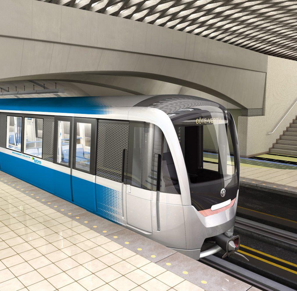 Banc d'essais pour ventilation passagers, voitures de métro MPM-10.