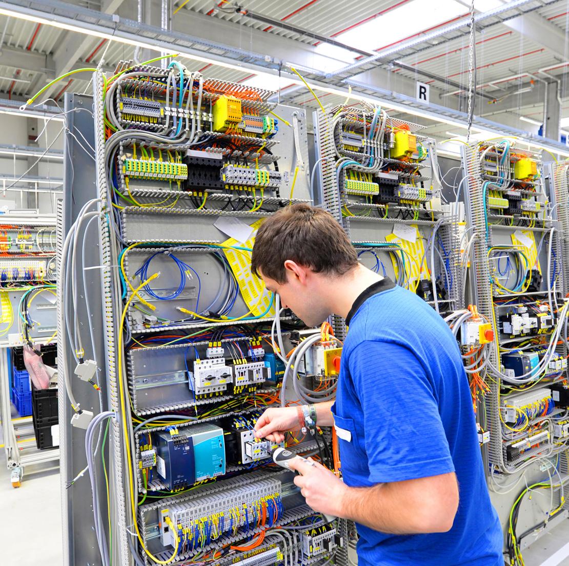 Panneau de contrôle industriel - Techniserv AG